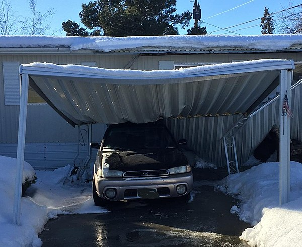 Warmer Yakima Weather Creating Potential For Roof Collapse