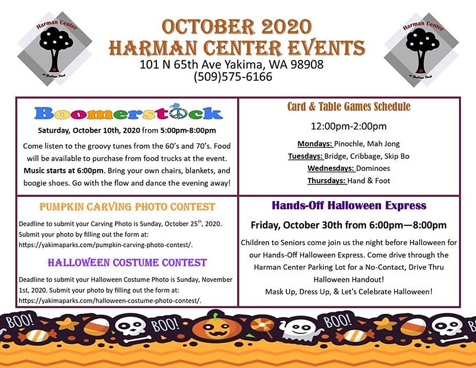 Any News About The Flow Up To 2020 Halloween The Harman Center is Full of Events for October 2020