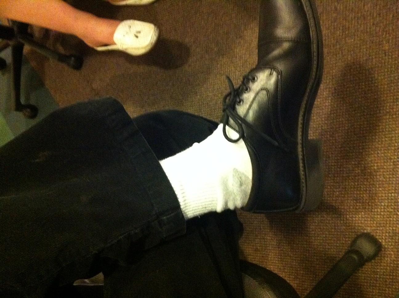 Are White Dress Socks OK? [POLL]