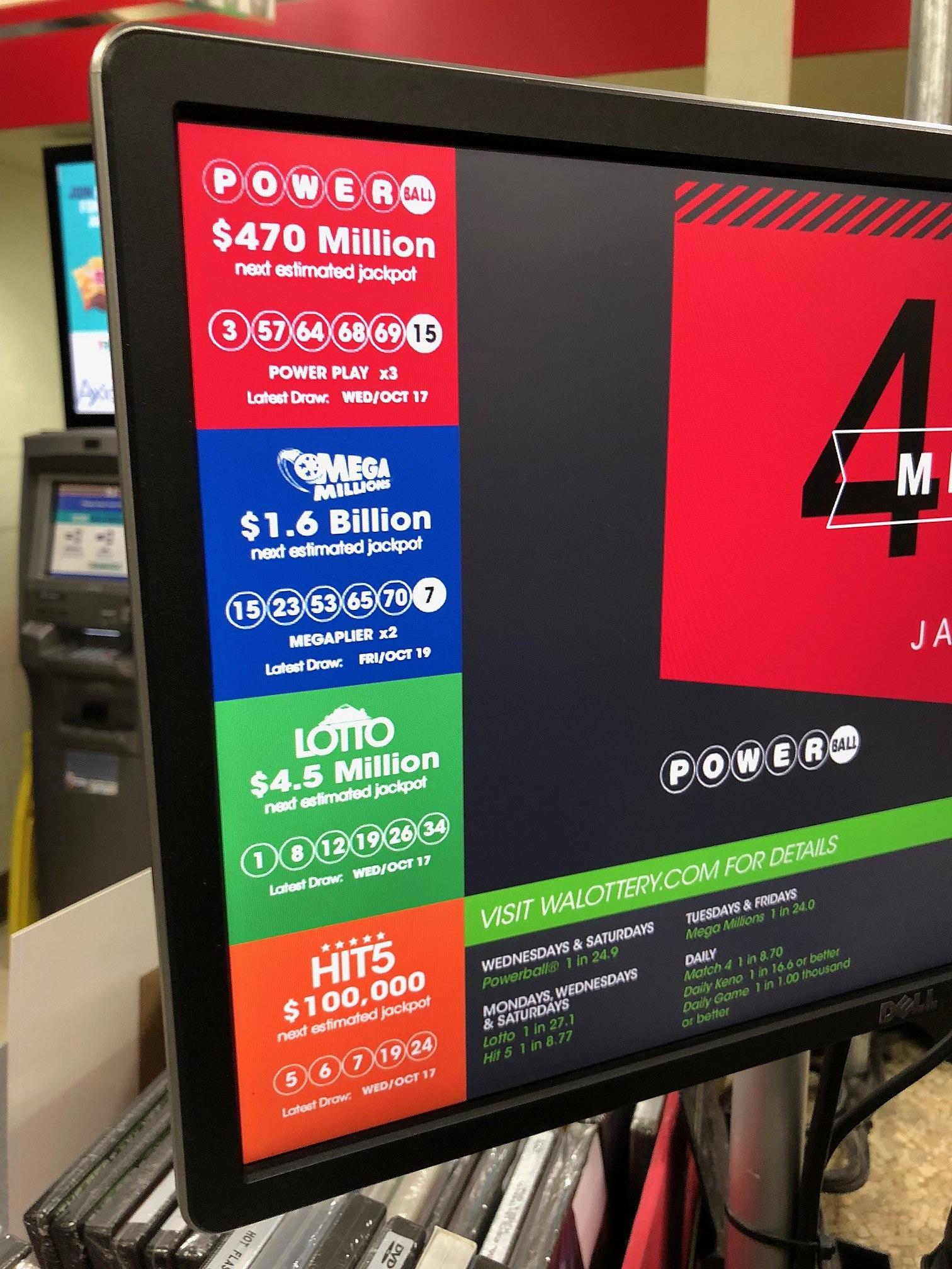 Mega Millions Jackpot Swells to $1 6 Billion