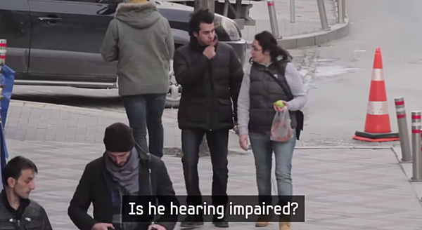 an entire town learns sign language for hearing impaired man