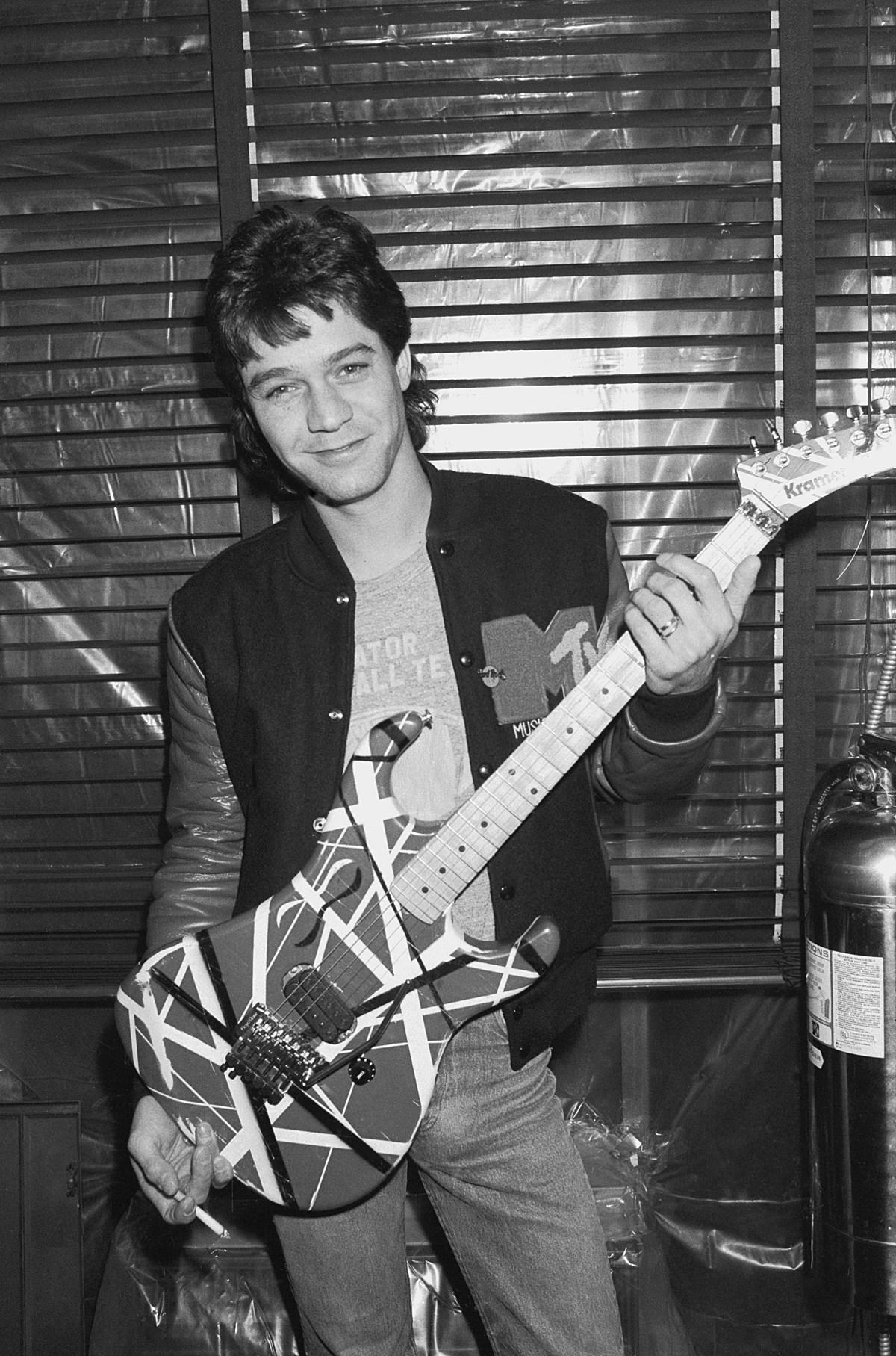 Miniature Eddie Van Halen Guitars Available