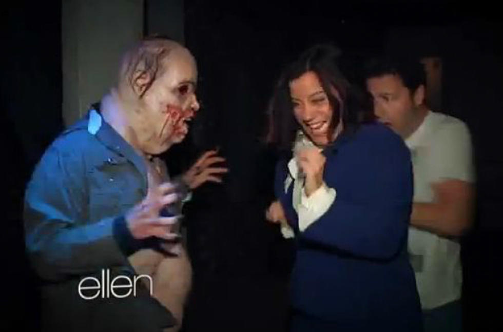 Utube- Ellen Degeneres Halloween Haouted House 2020 Ellen DeGeneres Sends Staff to a Haunted House