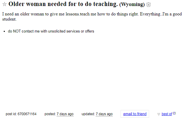 craigslist casper wyoming