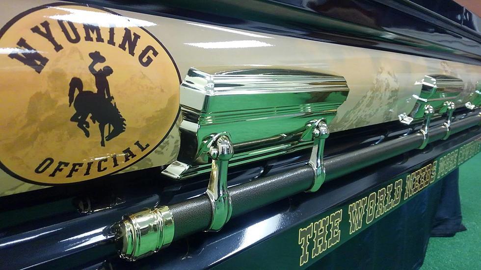 Riverton Memorial Company Introduce Cowboy Themed Casket