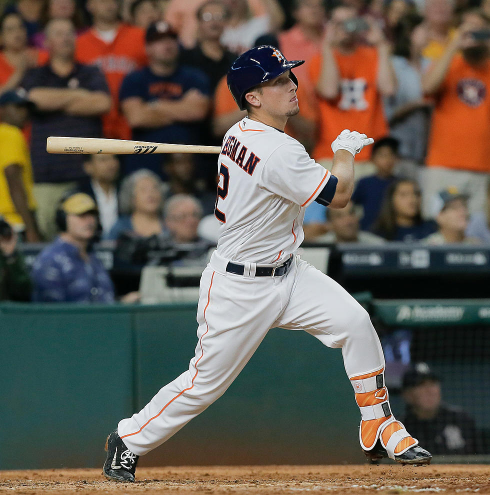 reputable site 4ba3d 30a8f Alex Bregman Hitless In First Three Games In The Majors