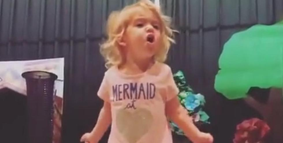 2-Year-Old Sings The Alphabet Song Like A True Diva