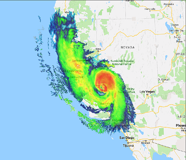 Maps Show What Florence's Impact Would Look Like Around the ... Google Map Of Nevada on satellite view of nevada, regional map of nevada, satellite map of nevada, topo map of nevada, encyclopedia map of nevada,
