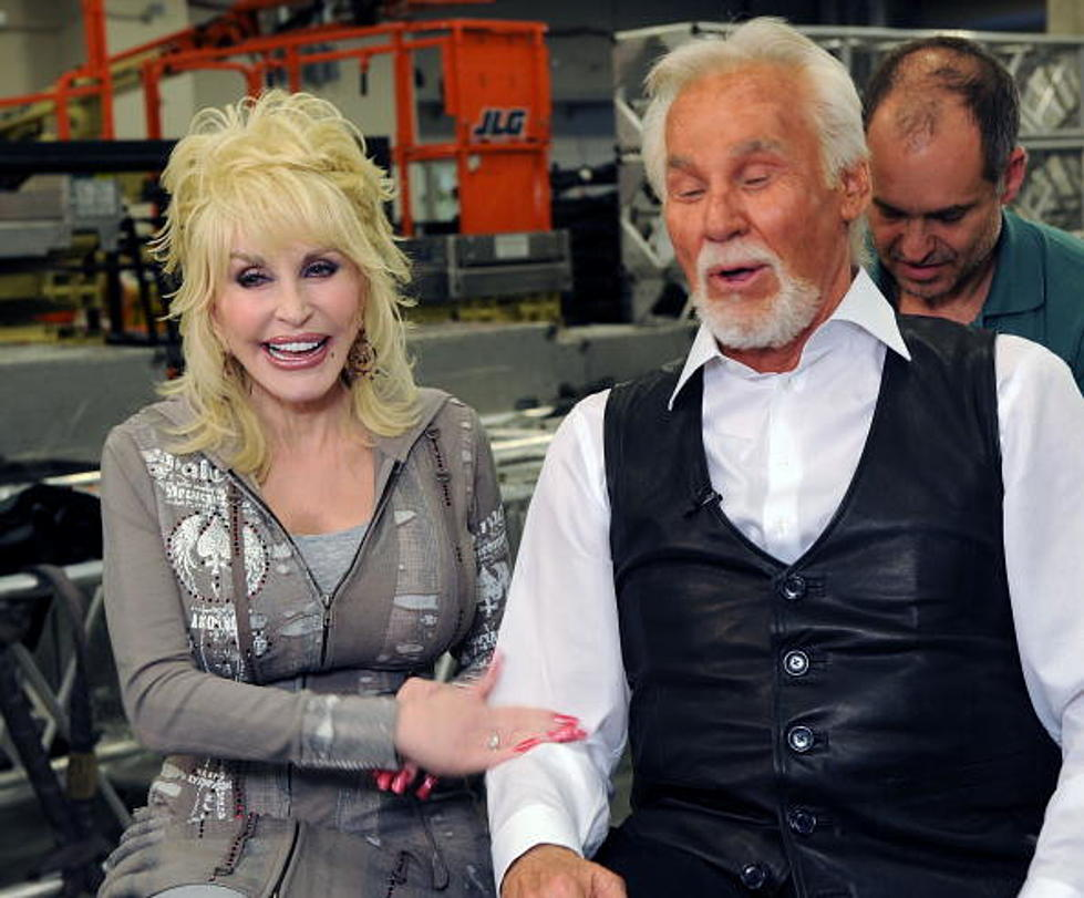 Dolly Parton Kenny Rogers Record First Duet In 30 Years