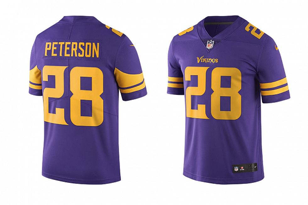 new product 0980e 22fb5 Nike Unveils Thursday Night Minnesota Vikings Color Rush Jersey