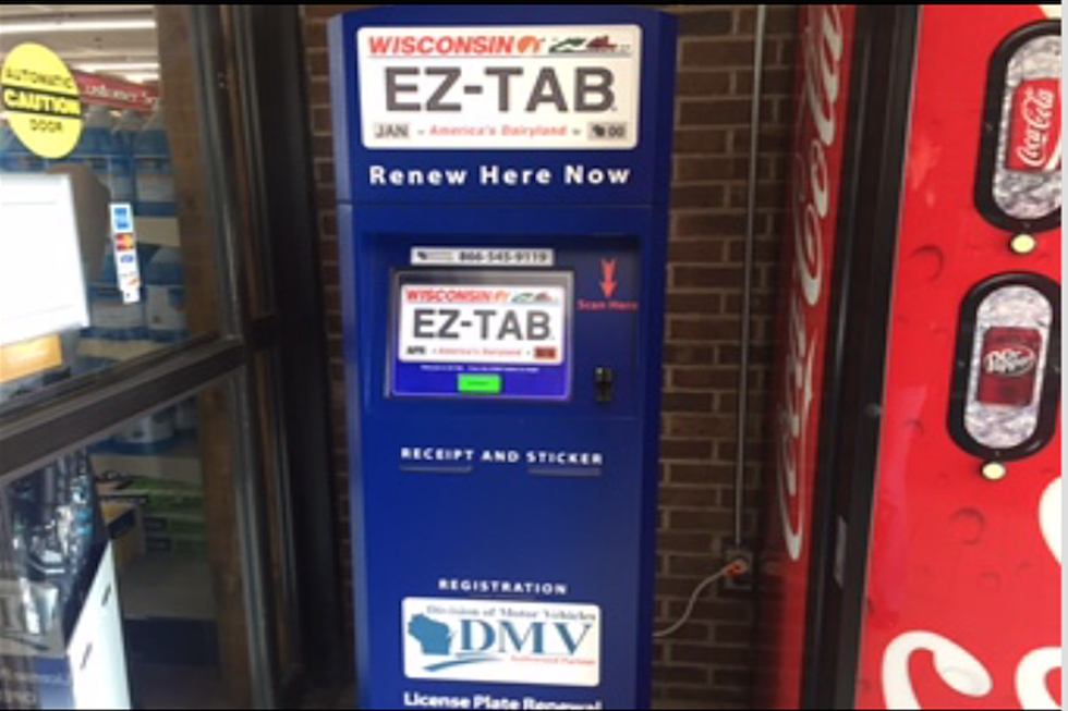 Get Your Wisconsin Vehicle Tabs With A Vending Machine?