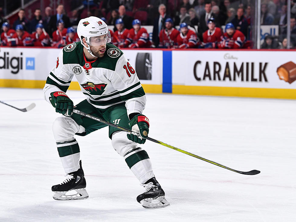 the best attitude 9874b 05721 Minnesota Wild Almost Traded Jason Zucker On Trade Deadline Day