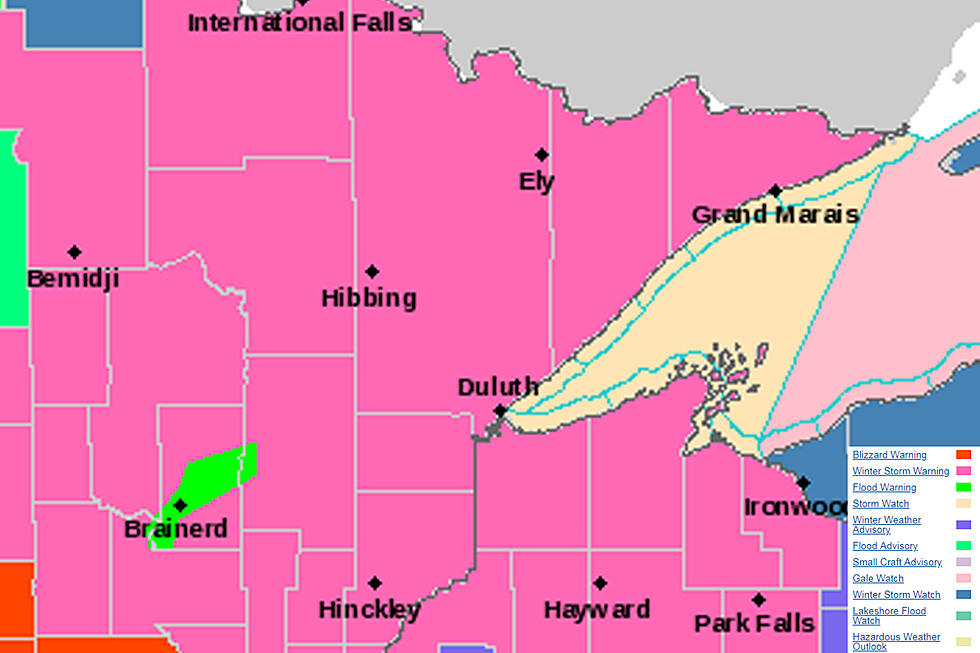 NWS Issues Winter Storm Warning For Late Week Storm