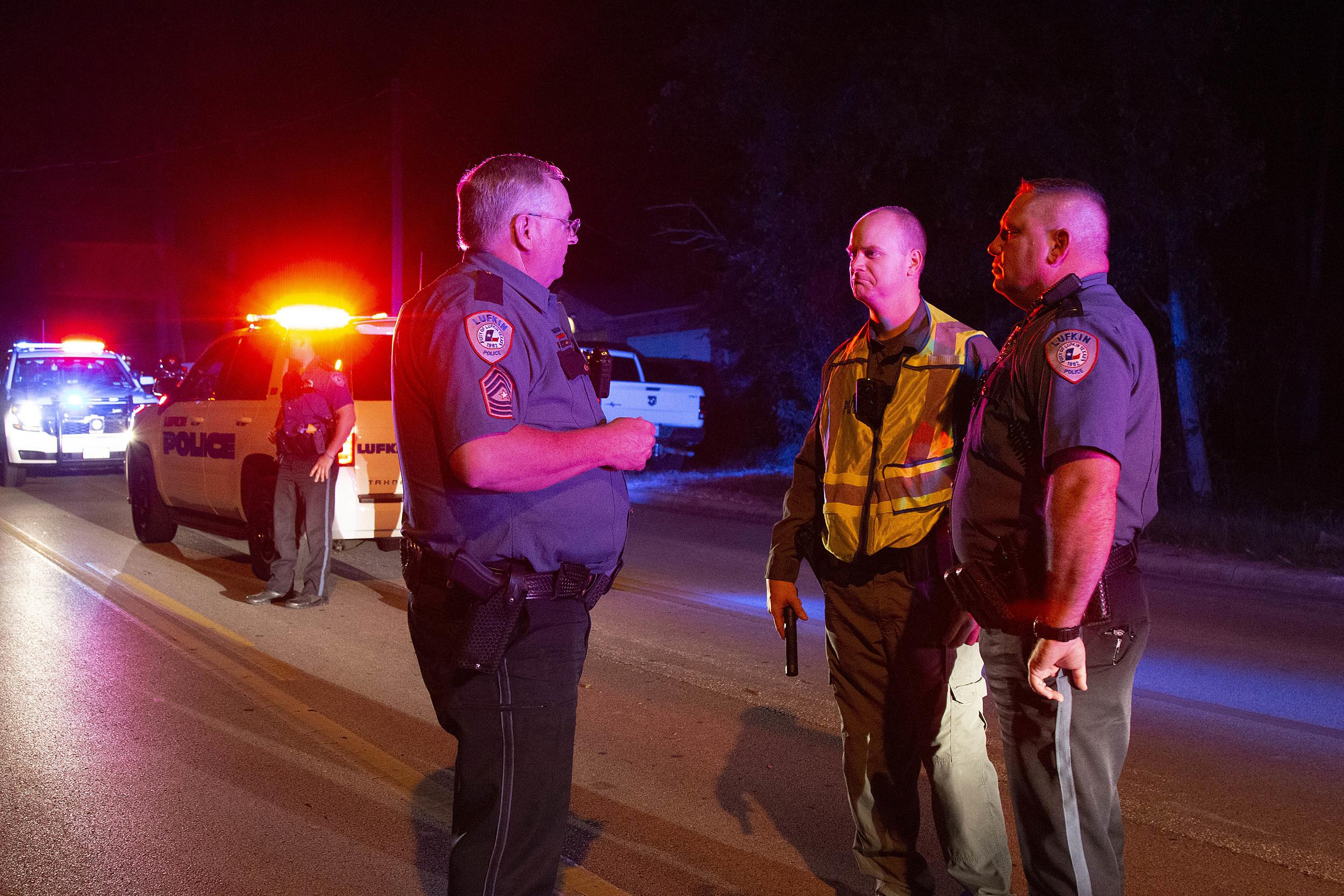 Lufkin Police Respond to Fatal Car Crash on Tulane Drive
