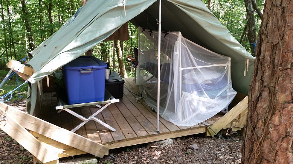 Update Mosquito Net Bed Frame For Camp Jim Weaver Diy