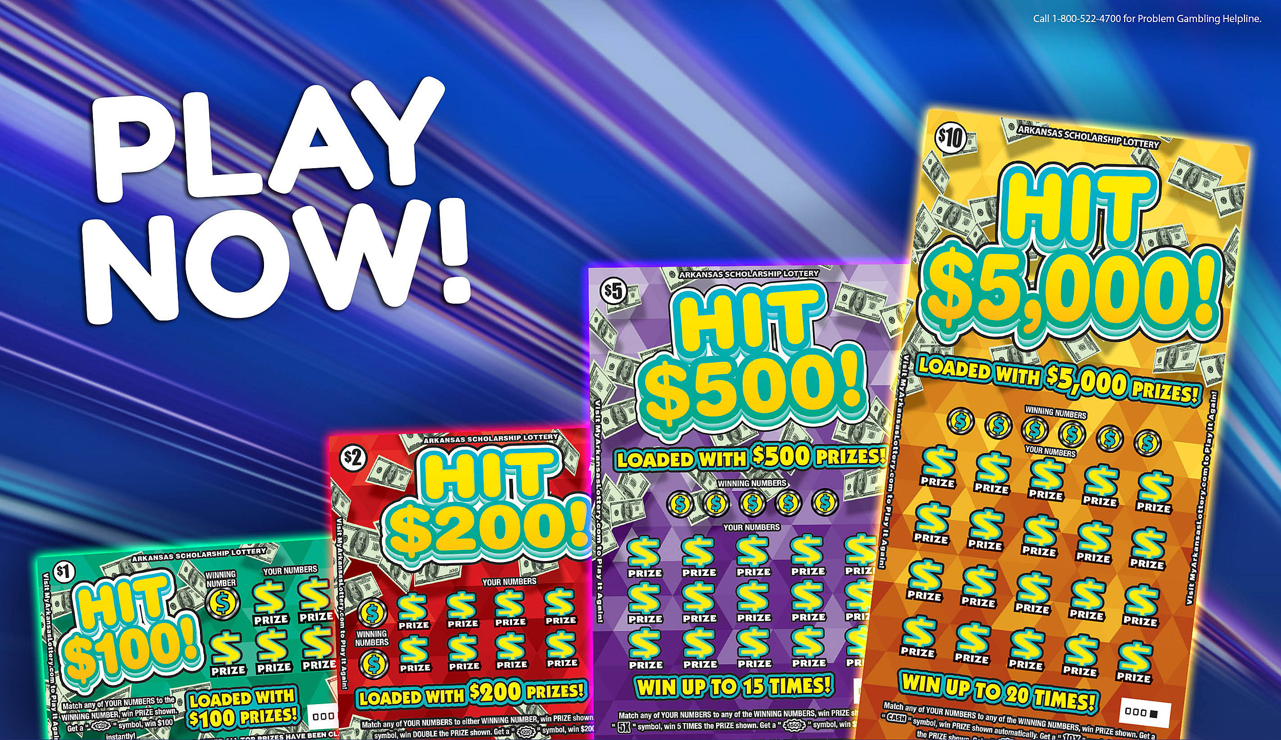 New Year Brings New Scratch-Offs & 5-Buck Bundle is Back