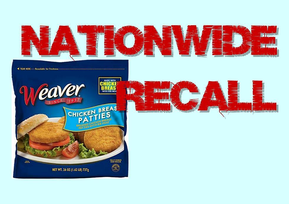 Tyson Foods Recalls Weaver Brand Chicken Patty Products