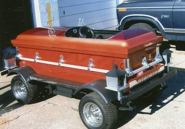 Coffin Car for Sale on Craigslist