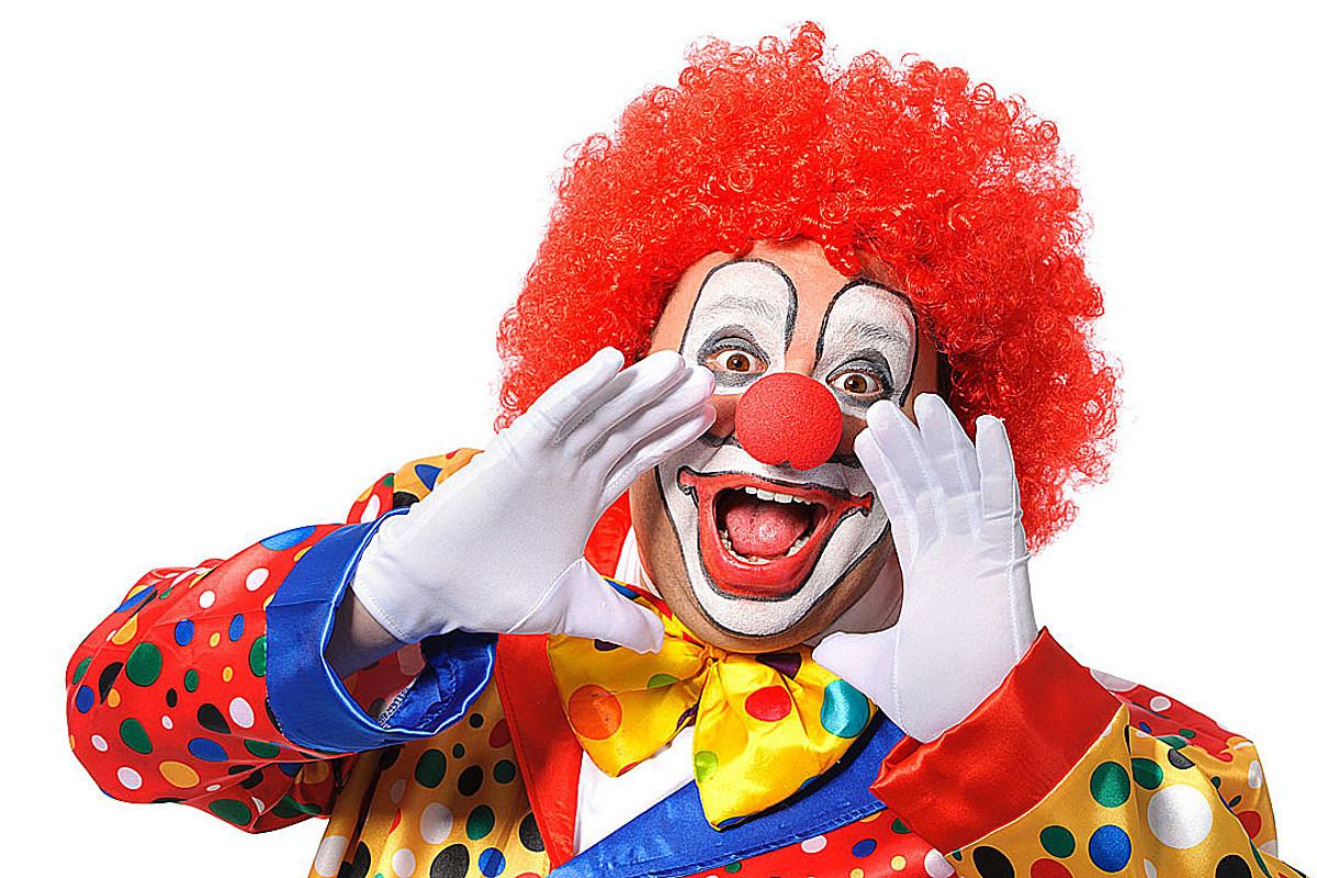 Картинки смешных клоунов для детей, дню фсб