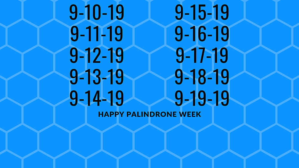 Celebrate The Last Palindrome Week Of The Century Starting Today