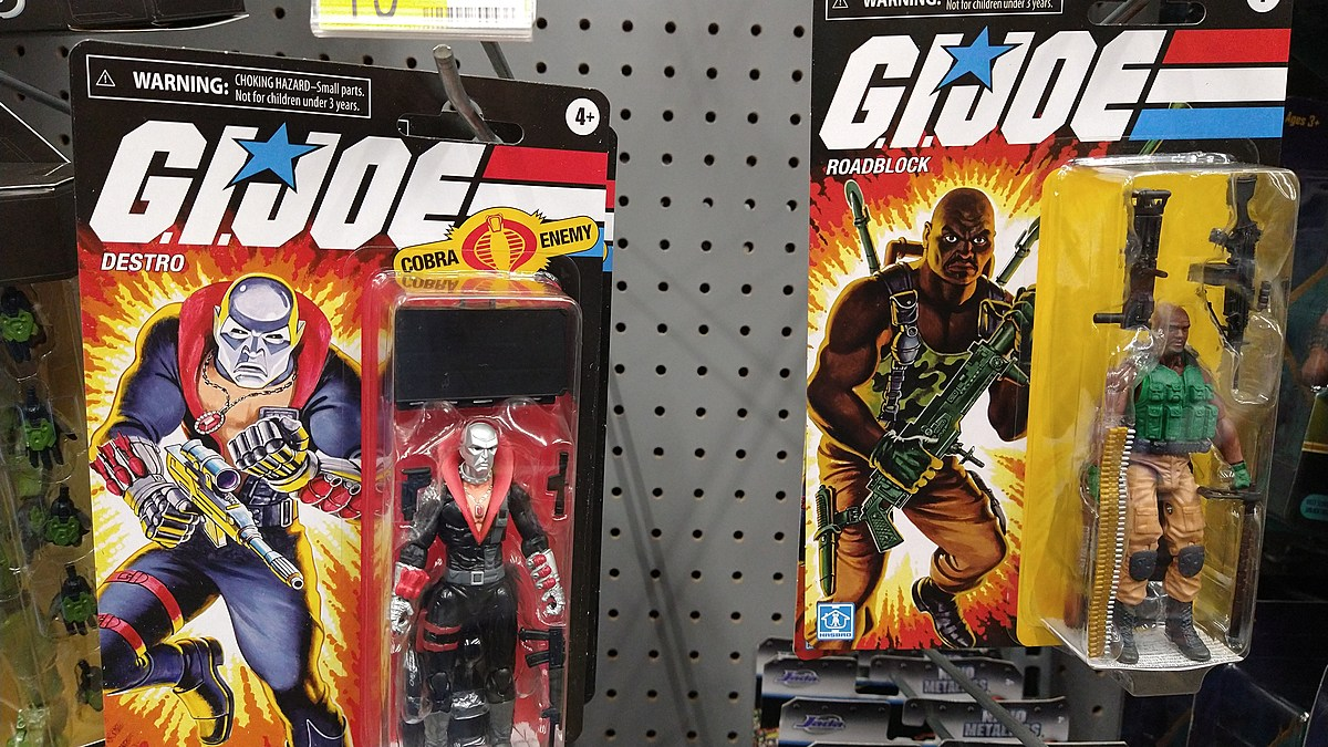 There Seems to be a Resurgence in 80's and 90's Toys