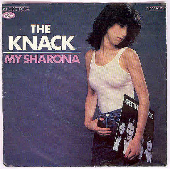 """Check Out the Hot Chick From The Knack's """"My Sharona"""" Album"""