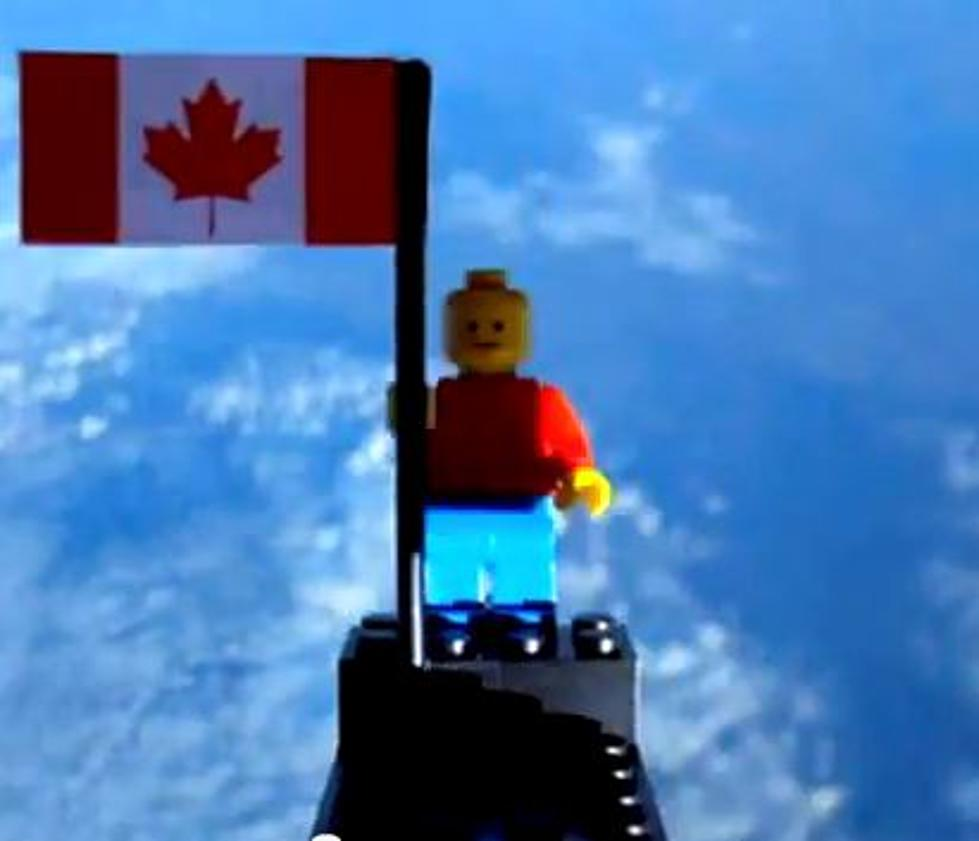 Two High School Kids in Canada Blasted a Lego Man Into Space