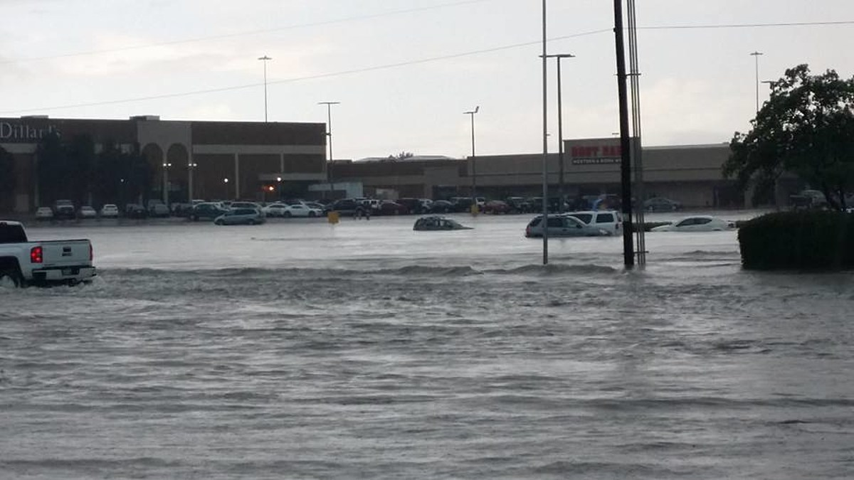 How Do You Explain Rain to Drivers in Lubbock, Texas?
