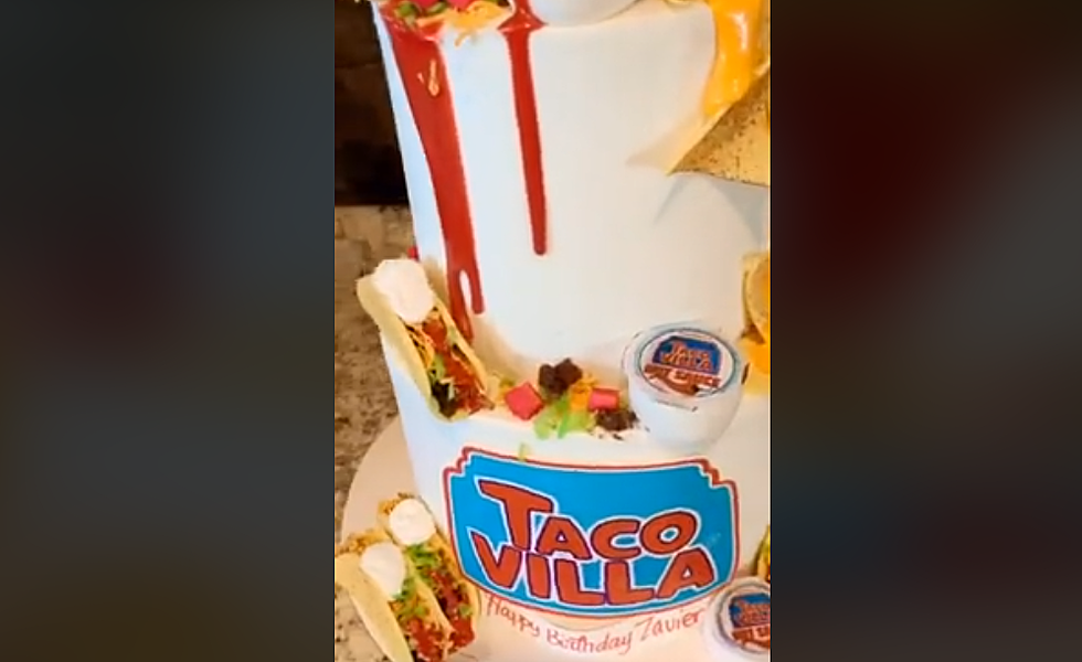 Astounding Taco Villa Birthday Cake Is A Texas New Mexico Masterpiece Birthday Cards Printable Giouspongecafe Filternl