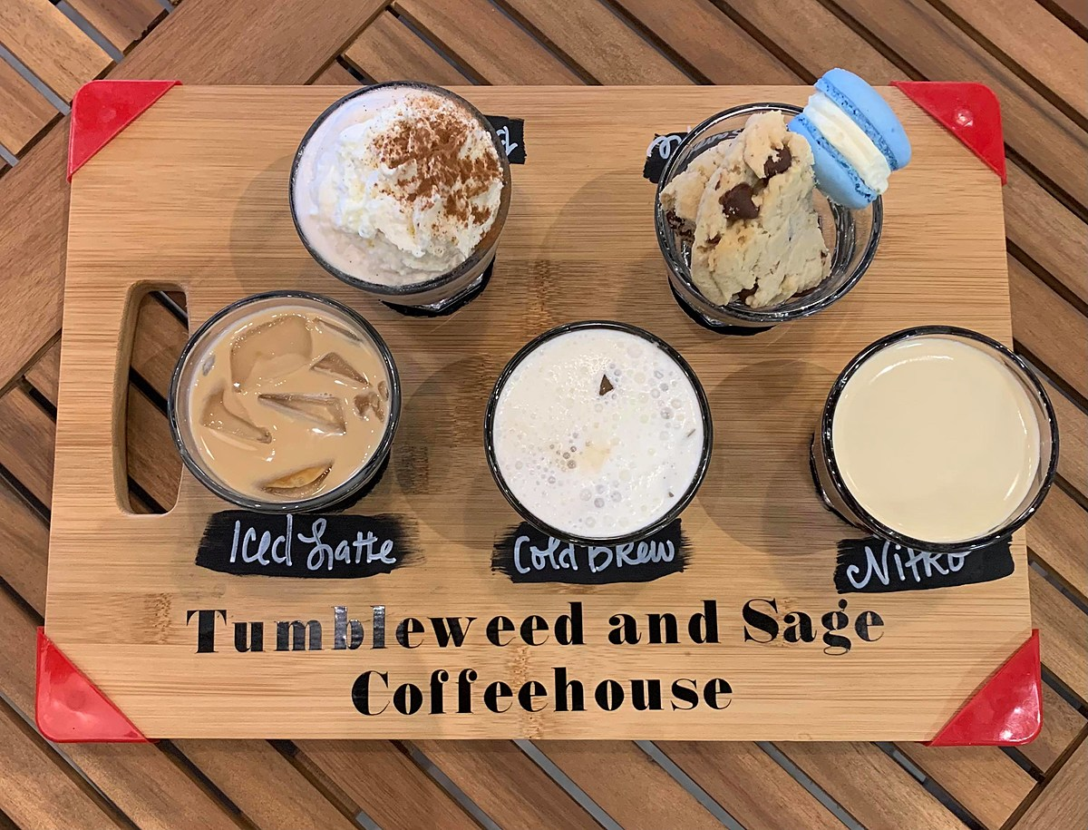 A Wolfforth Coffeehouse Introduces Coffee Flights