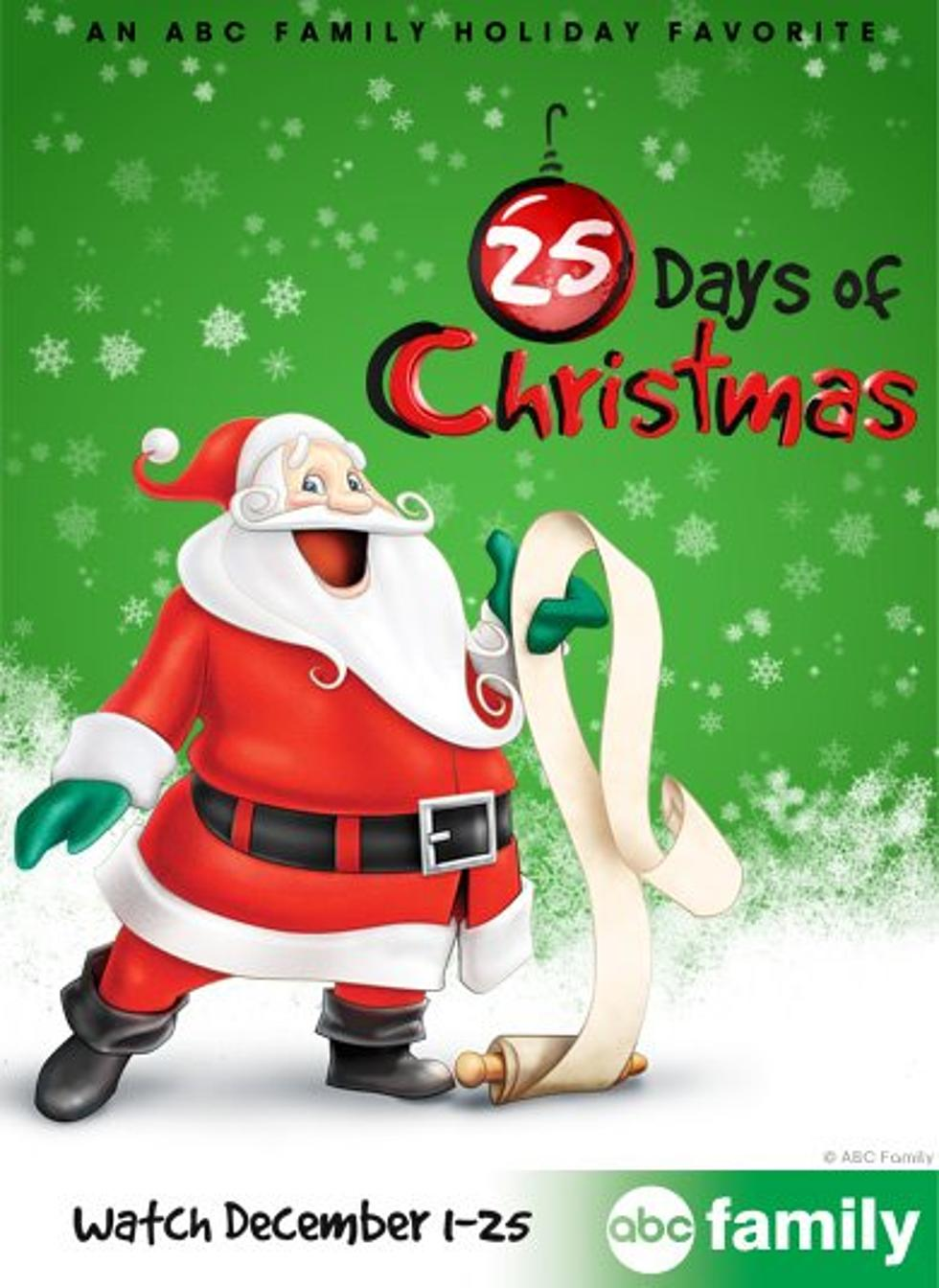 Abc Family Christmas.Abc Family S 25 Days Of Christmas Schedule Week 5