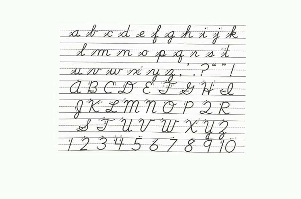Here's a Sad Stat – Teenagers Can't Read or Write Cursive ...