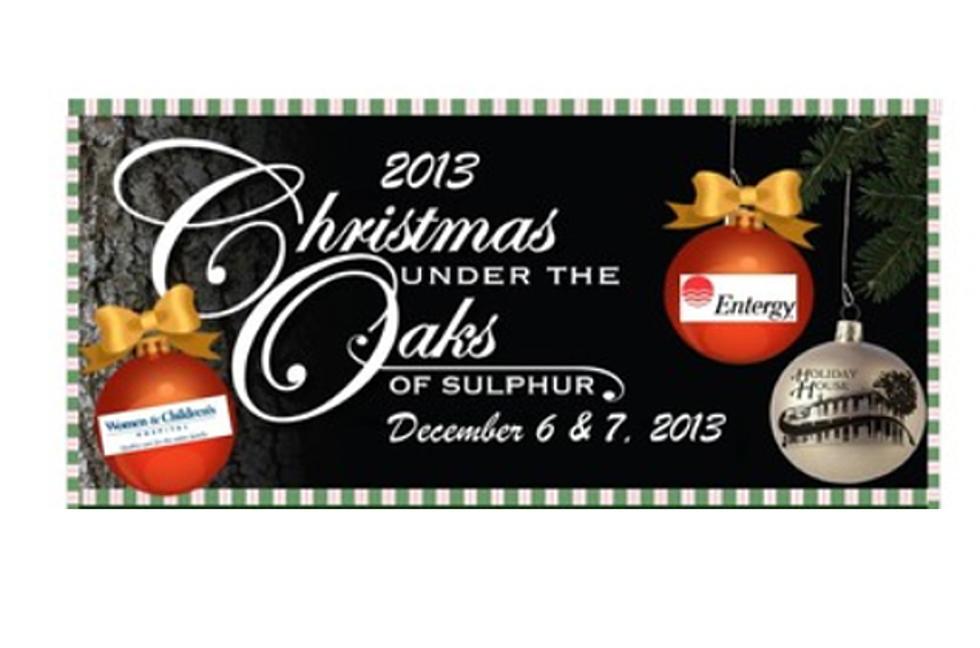 Christmas Under The Oaks.Sulphur S Christmas Under The Oaks Saturday