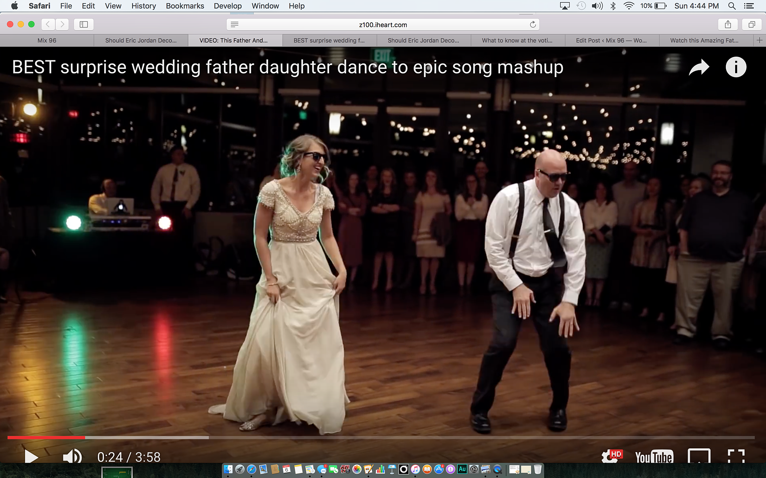 Watch This Amazing Father And Daughter Wedding Dance