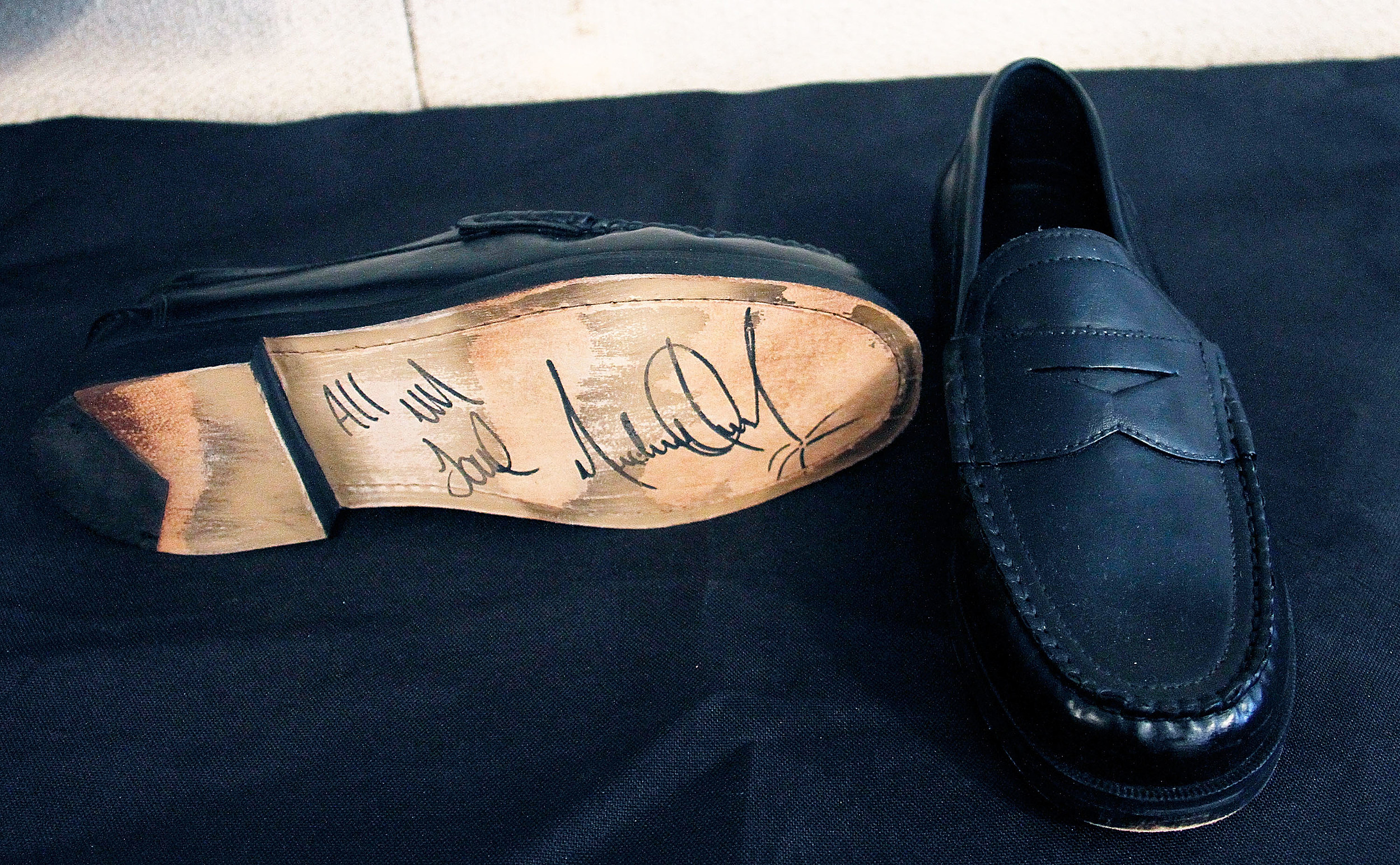 Michael Jackson S Moonwalk Shoes Going Up For Auction