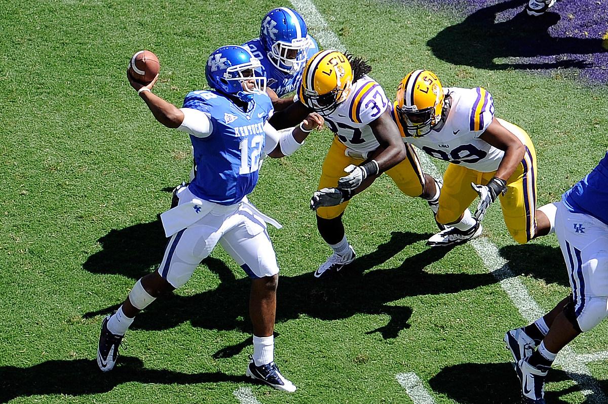 LSU Football Hosts The Kentucky Wildcats Saturday In Death ...