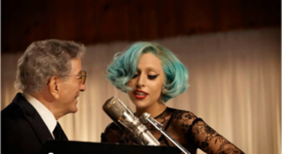 Listen to Tony Bennett and Lady Gaga Duet, 'The Lady is a Tramp'