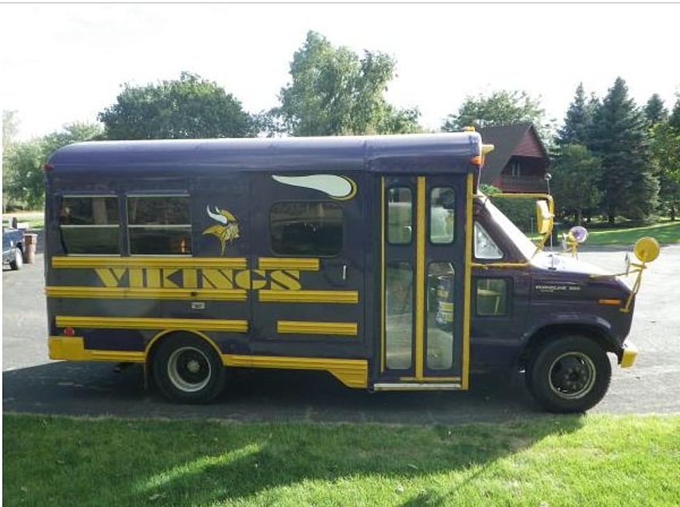 Vikings Party Bus for Sale SKOL