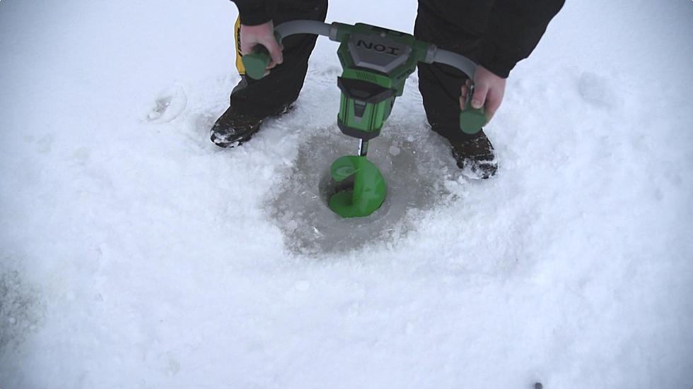 Ion Ice Auger 'Slush-Flushing Reverse' Test [VIDEO]