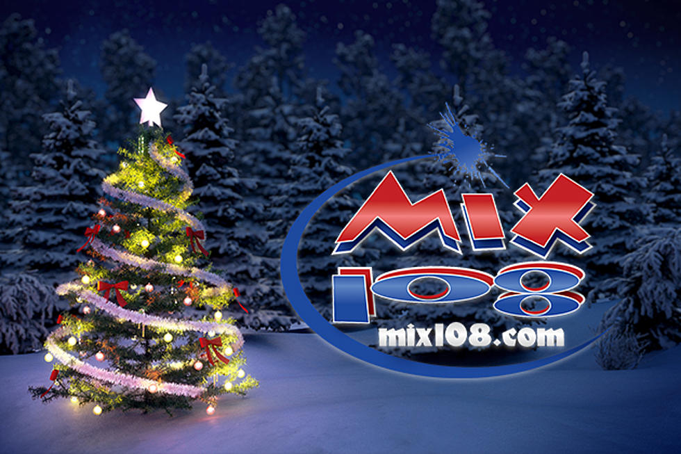 Stream Christmas Music.Mix 108 Announces Their Commercial Free Christmas Music Stream
