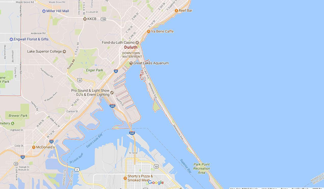 Check Out This Judgmental Map Of Duluth on