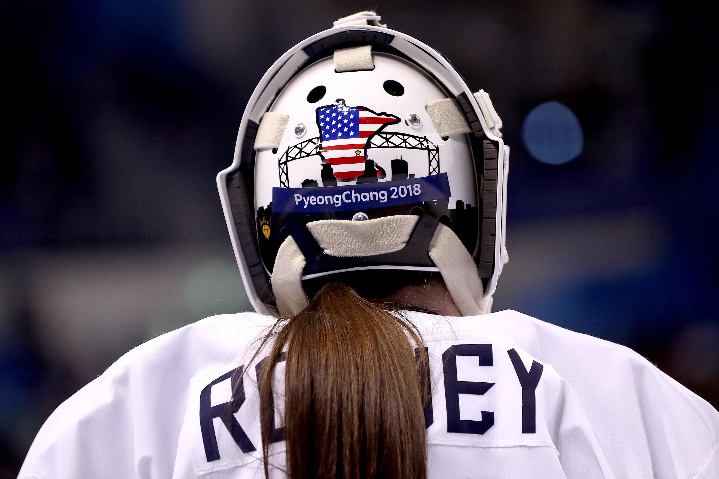 Iconic Duluth Landmark Featured On Goalie's Helmet For Olympics