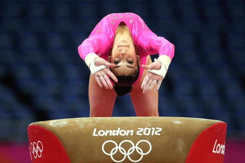 Watch U S  Gymnast Aly Raisman's Parents Watching Her at The