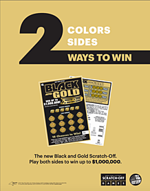 NY Lottery Black and Gold Back-to-Back Contest