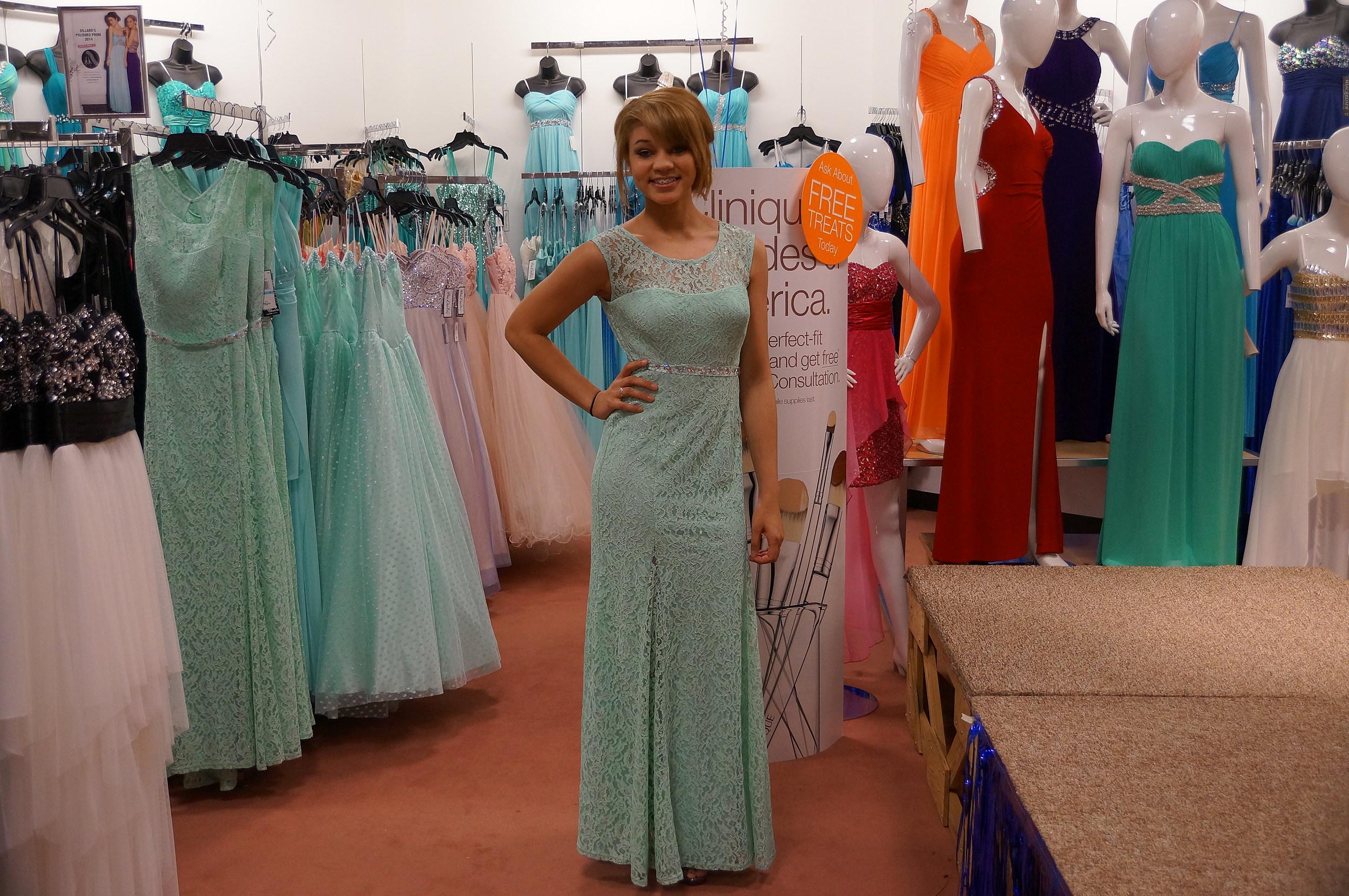 457c4c64fff23 Prom Dresses at Dillard's in Texarkana [PHOTOS]