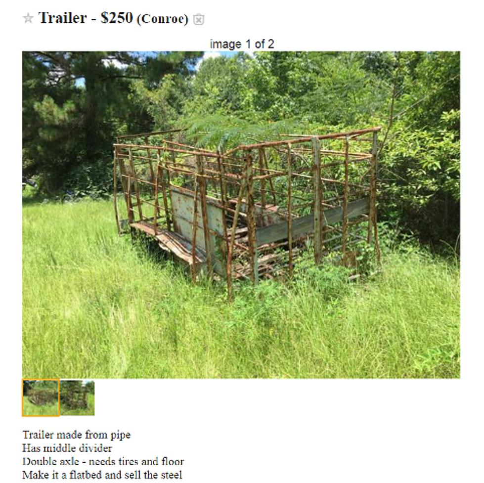Craziest Craigslist Items For Sale in the Texarkana Area