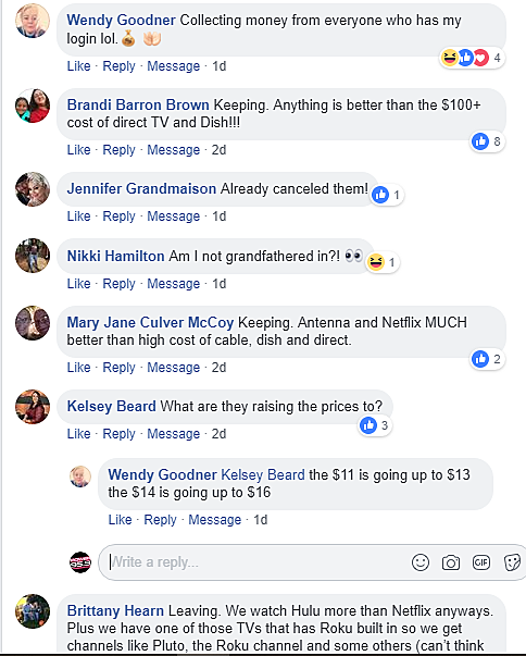 With Netflix Hiking Their Prices Are You Sticking With Them?