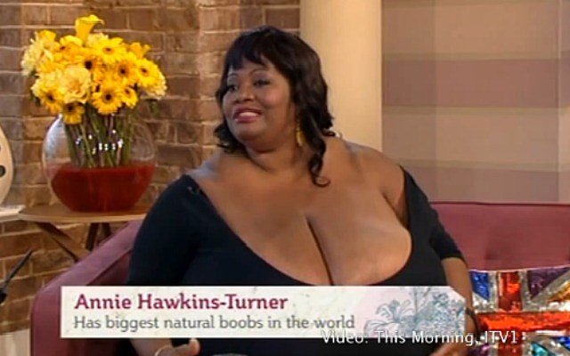 Guinness world record biggest boob