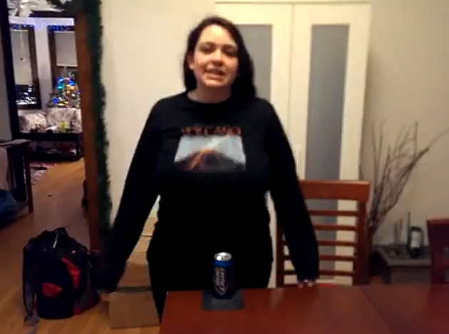 Beer can boob