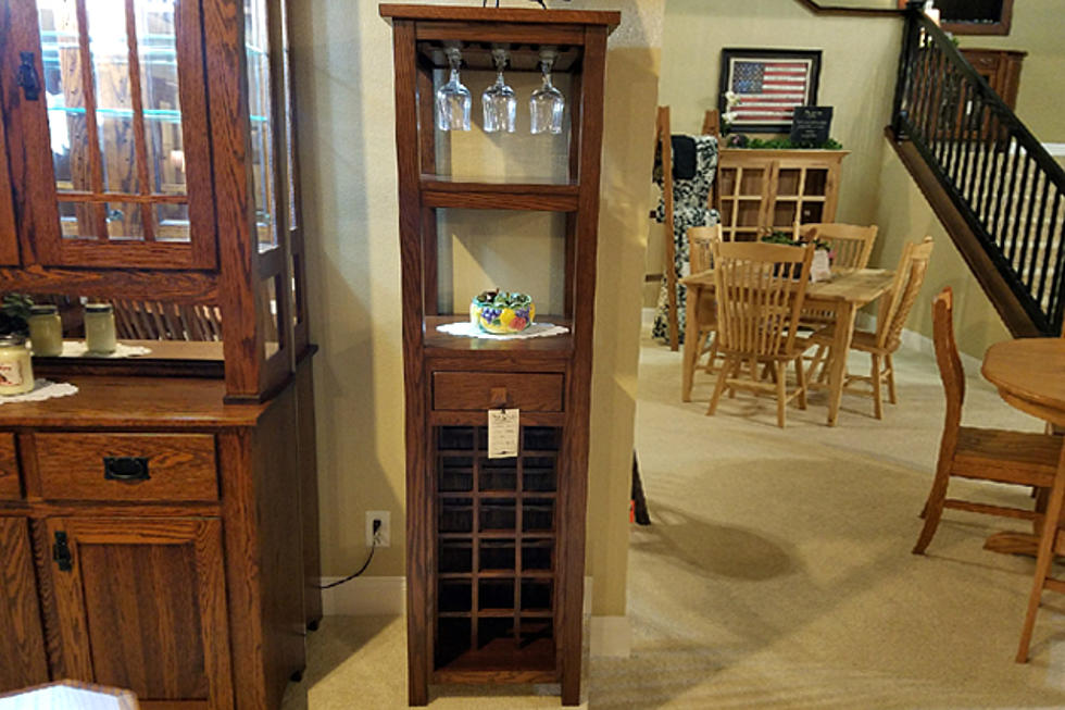 Seize The Deal Auction Oak Wine Cabinet From Creek